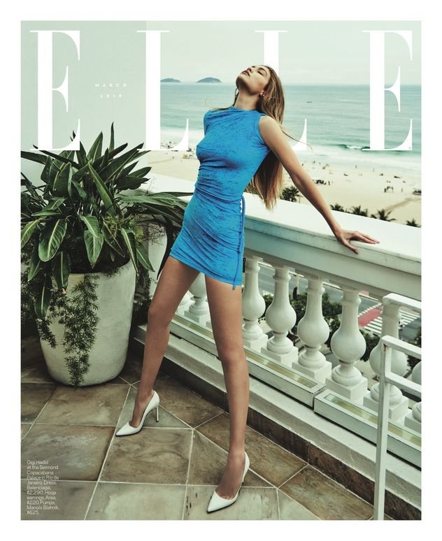 PRODUCTION BERLIN / LA : Gigi Hadid for ELLE US