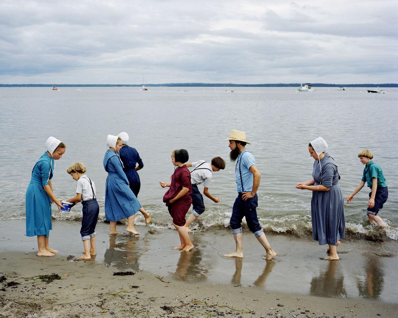 JEAN-LUC BERTINI: AMERICAN SOLITUDES - Amish, Lincolville, Maine, 2008