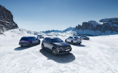 MERCEDES-BENZ SUV Range by MARKUS WENDLER - From the dynamic, sporty GLA to the luxuriously spacious GLS, the Mercedes-Benz SUV range is stronger than ever before.