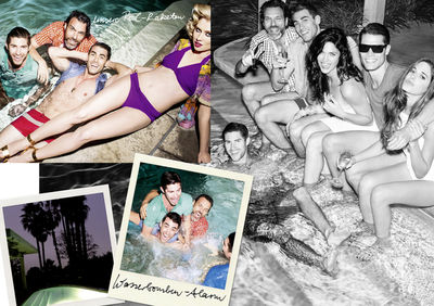 A WEEK END HOLIDAY - WORMLAND Men's Fashion Magazine S/S 2013