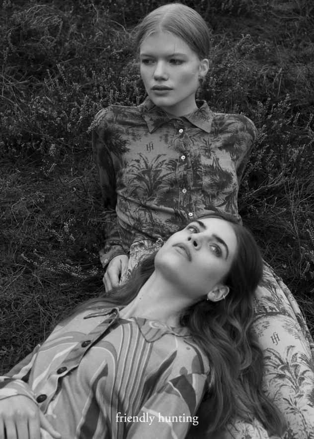 TOBIAS BOSCH FOTOMANAGEMENT: NEW TALENT MARIE SCHMIDT FOTOGRAFIERT DIE KAMPAGNE 'BEAUTIFUL MIND' FÜR FRIENDLY HUNTING
