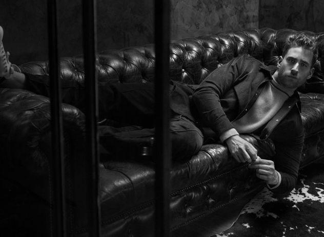"""SEVERIN WENDELER: """"Oliver Jackson-Cohen"""" Portrait by Sandro Baebler c/o Severin Wendeler for Flaunt Magazine"""