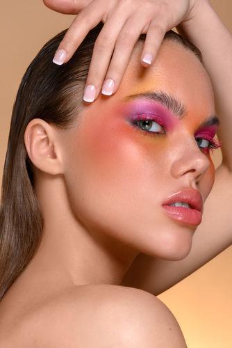 Camilla Camaglia Editorial for I'm Fashion Makeup Mag Israel
