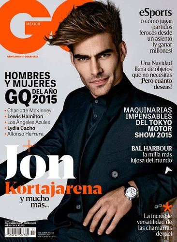 Jon Kortajarena by Hunter & Gatti for GQ MEXICO