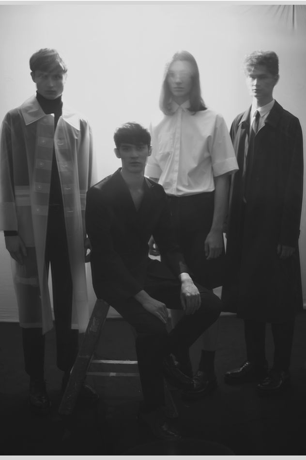 BRODYBOOKINGS: NEW FACE BOYS for LEWIS MAGAZINE