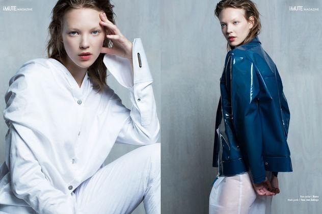 """NINA KLEIN, Ellen van Exter, I Mute Magazine """"White Wash"""""""