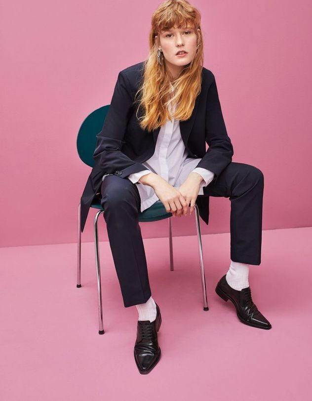 Jette Stolte c/o MARLENE OHLSSON PHOTOGRAPHERS  »Suits« GRAZIA Germany