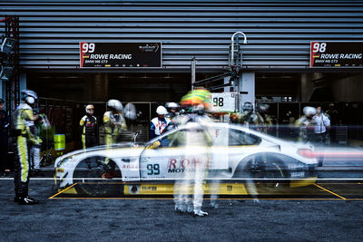 Night Shift at 24h Race in Spa-Francorchamps