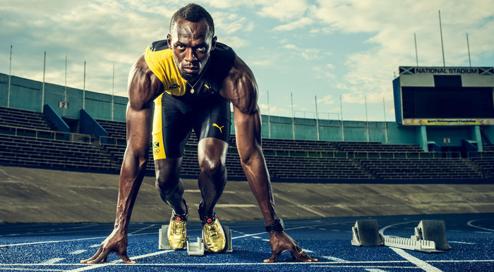 ALYSSA PIZER MANAGEMENT: JON JOHNSON Shoots Usain Bolt for PUMA
