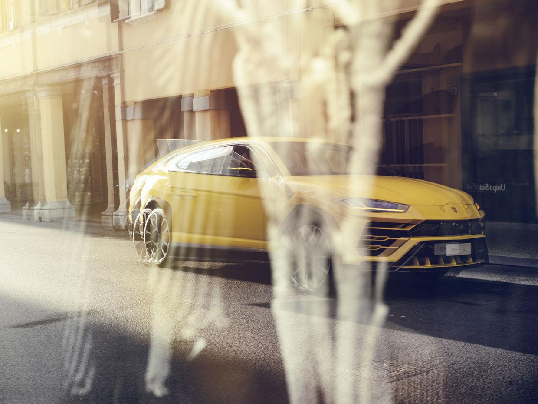 DENIZ SAYLAN shoots for Lamborghini / Audi AG the new Urus