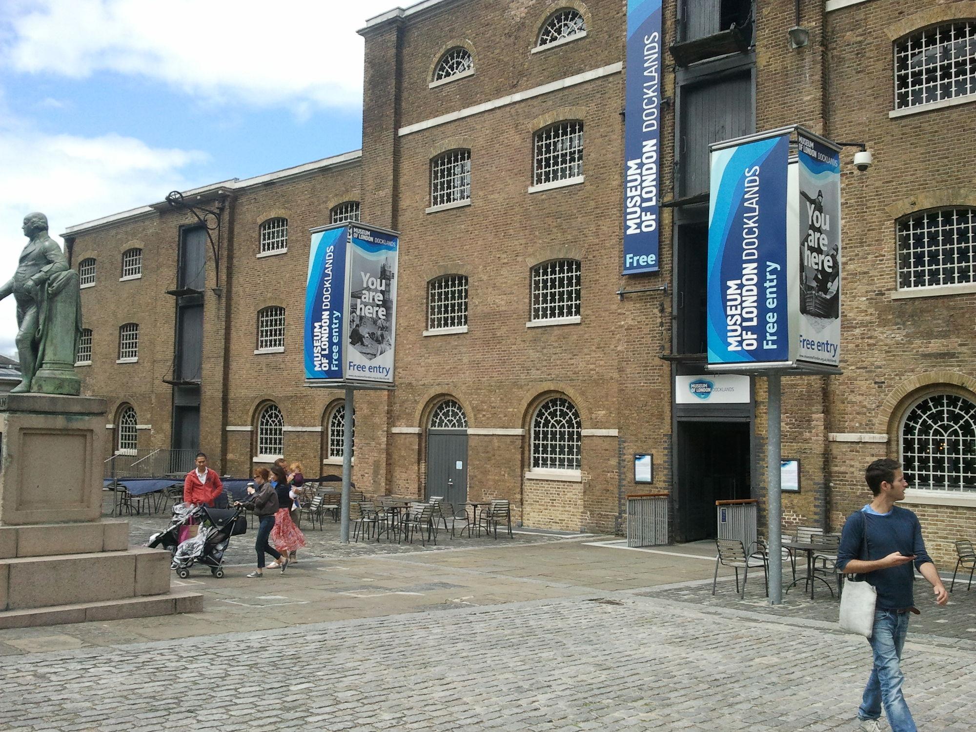 GOSEE : DEUTSCHES HAUS, Museum of London Docklands