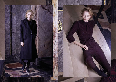 HILLE PHOTOGRAPHERS: ANJA BOXHAMMER FOR MUSSWESSELS CAMPAIGN A/W 2017