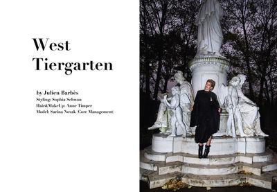 STUDIO JULIEN BARBèS for WOW Magazine Berlin
