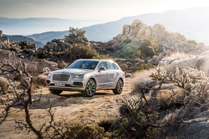 JAMES LIPMAN for Bentley Bentayga Global Media Launch
