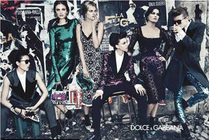 MUNICH MODELS : CONSTANCE Jablonski for D&G