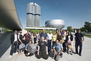 DOMINIK OBERTREIS for BMW-WELT MUENCHEN