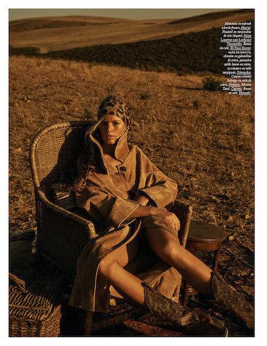 BAKER KENT : Lachlan Bailey  for VOGUE Paris