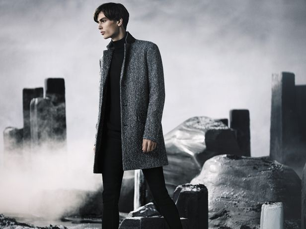 VIVA MODELS: Marc Schulze for New Look a/w 2015 campaign