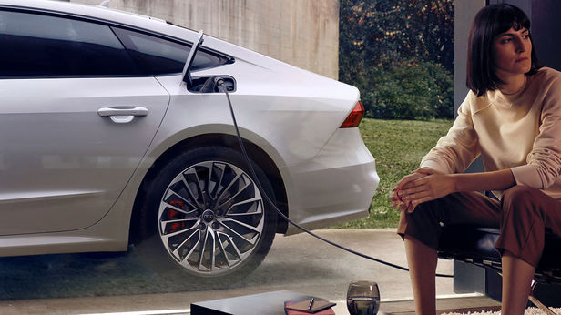 KLAUS STIEGEMEYER: Jan Friese & Claudia Scholtan for Audi