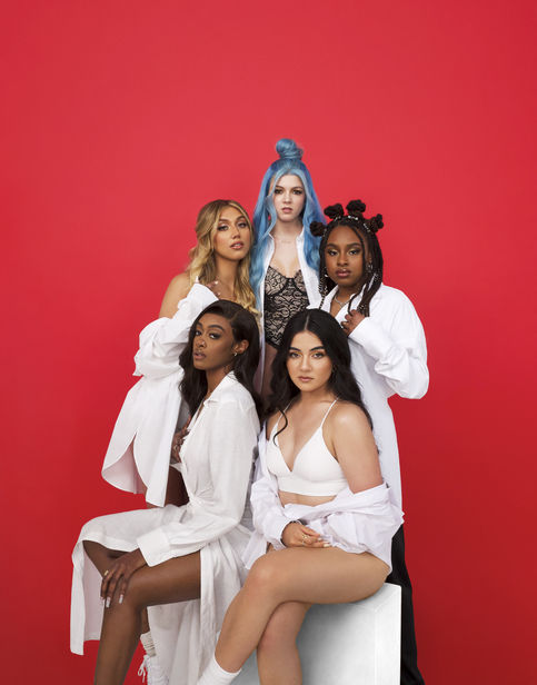 """TIGHTROPE PRODUCTION produced cover artwork for Girlband Citizen Queen's latest single """"Y"""" as well as promo images"""