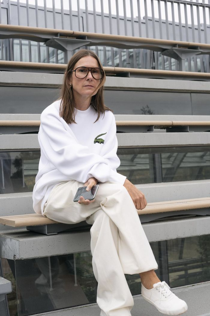 Louise Trotter - President of the fashion jury © Anders Edström