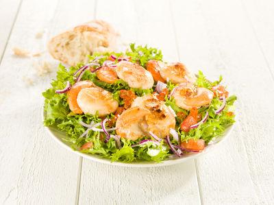 Jakobsmuschel Salat