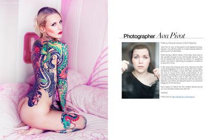 COVER Strecke VOLO Magazine, Lexy Hell