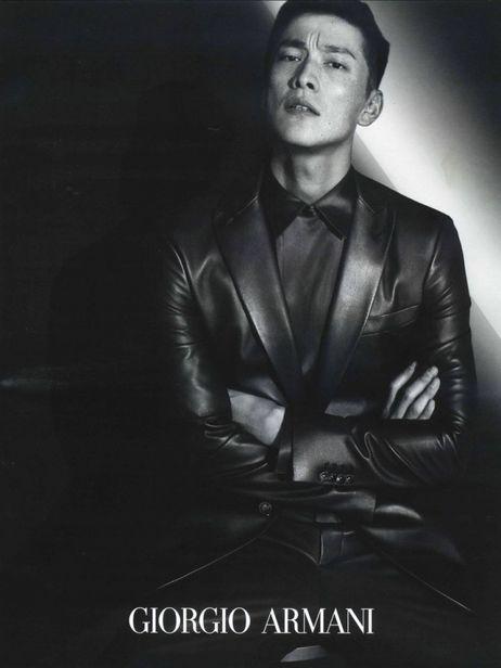 VIVA MODELS: Daisuke Ueda for Giorgio Armani f/w 2019 campaign