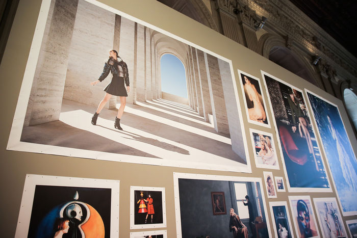 KARL LAGERFELD – Visions of Fashion, a photography exhibition curated by Eric Pfrunder and Gerhard Steidl
