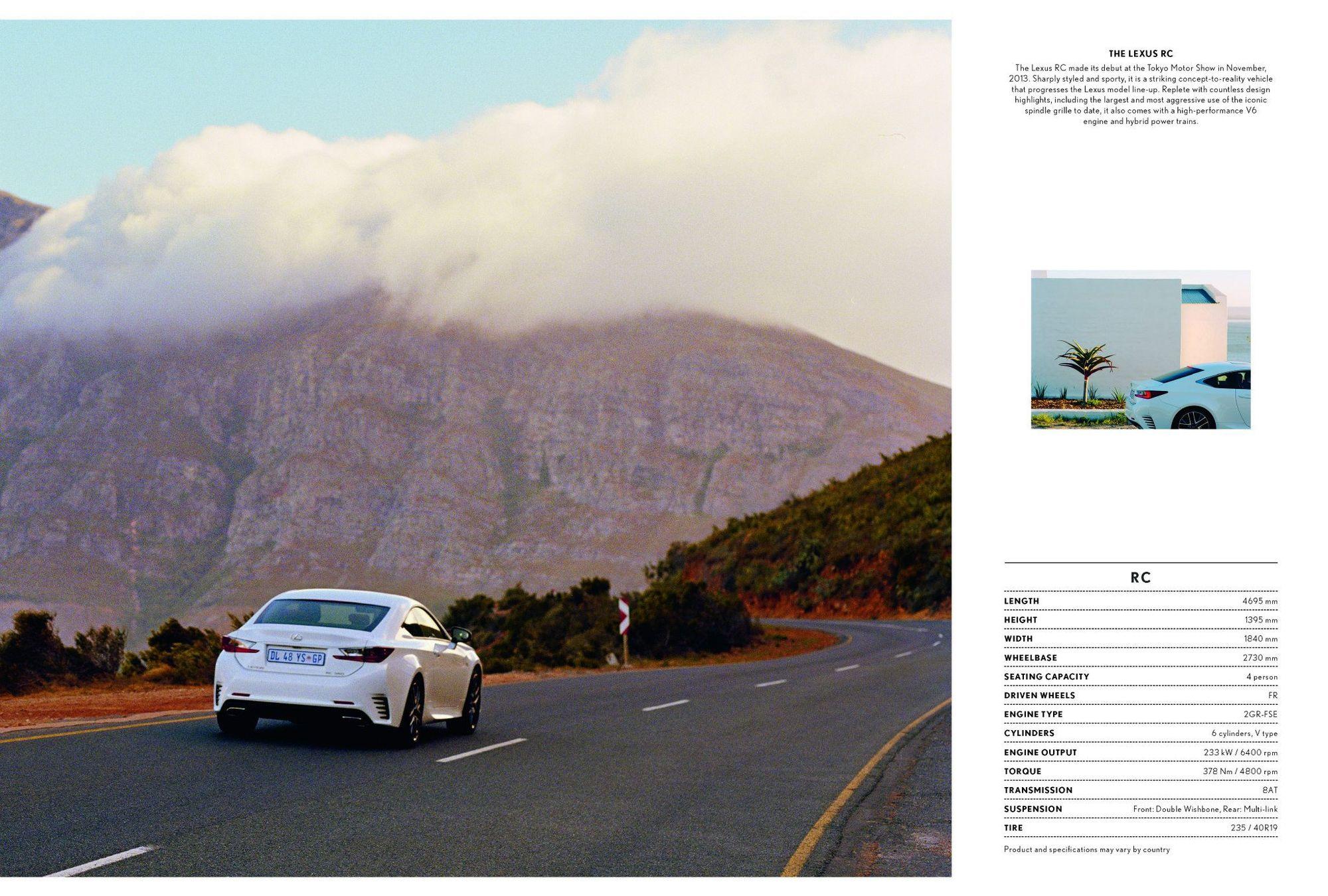 10-4 AFRICA :Lexus – The Road