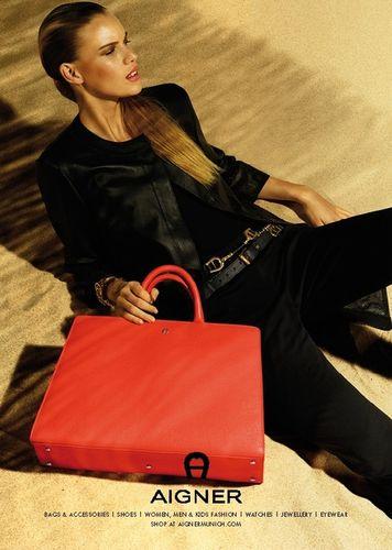 MUNICH MODELS : Victoria TUAZ for AIGNER