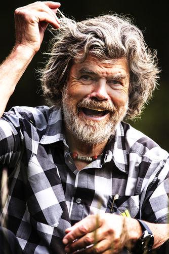 Reinhold Messner für ALPS MAGAZIN