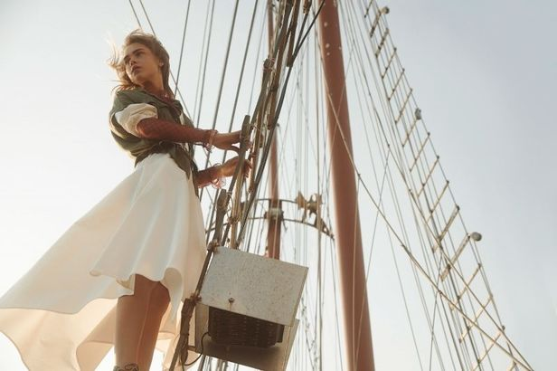 Laura Palm c/o MARLENE OHLSSON PHOTOGRAPHERS for Barbara Magazine X WORLD Traveller
