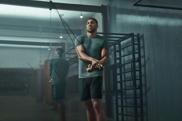 Under Armour – Boxer Anthony Joshua by Olly BURN c/o MAKING PICTURES