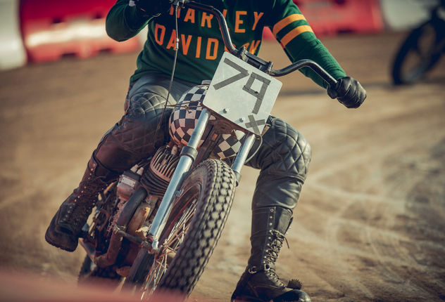 "SEVERIN WENDELER: Patrick Curtet c/o Severin Wendeler ""Moto Beach Classic"""