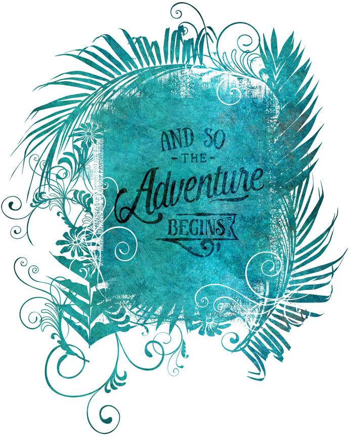 Watercolor Typography Adventure
