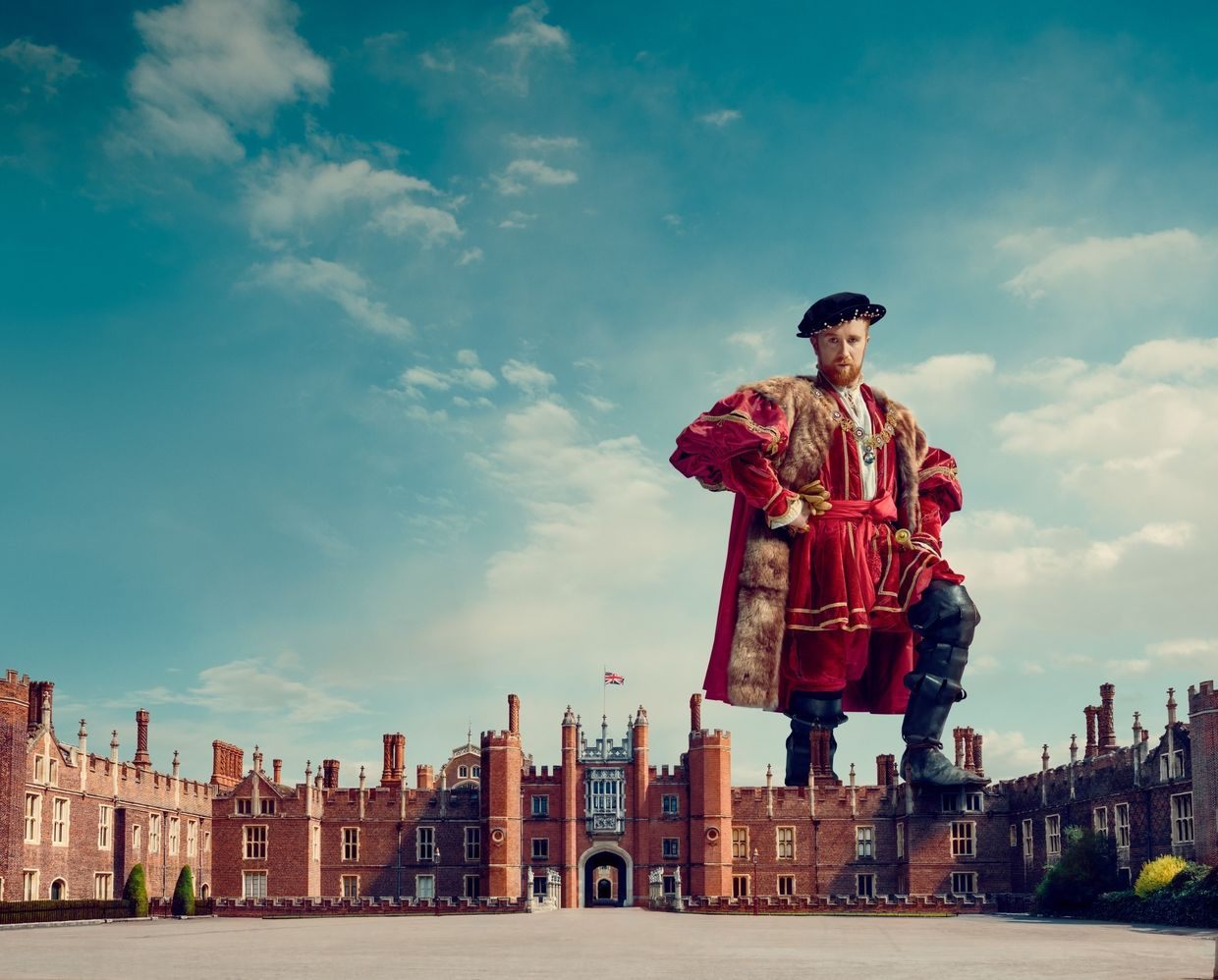 TODD ANTONY for Historic Royal Palaces - 'Explore the Home of Henry'