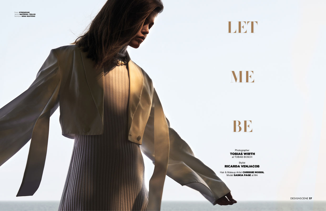 TOBIAS WIRTH. LET ME BE. DESIGNSCENE MAGAZINE