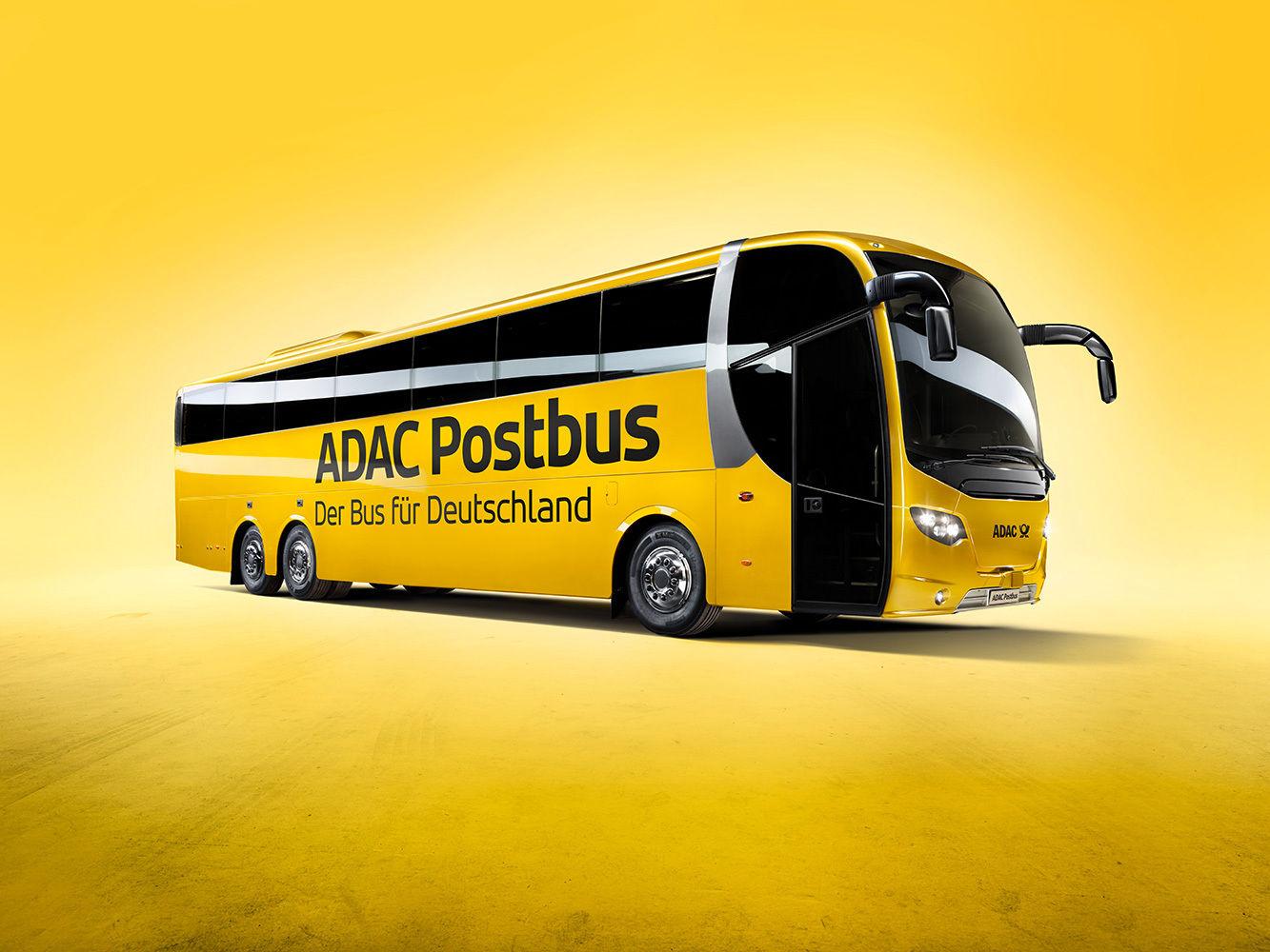 ANKE LUCKMANN for ADAC POSTBUS