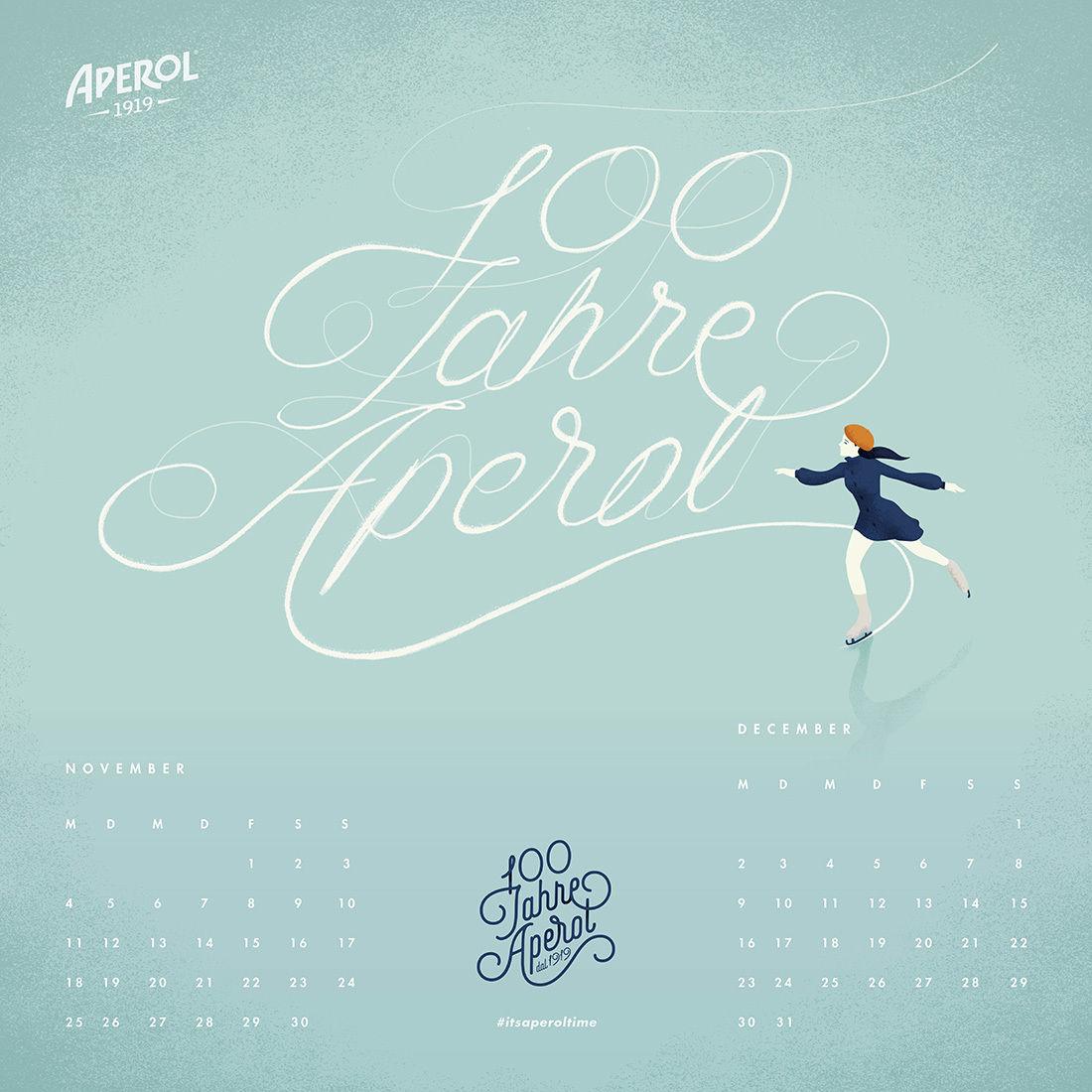 ANDREA DE SANTIS // 100 JAHRE APEROL