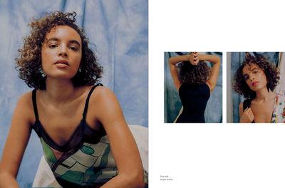 MICAIAH CARTER c/o GIANT ARTISTS photographed visual artist Phoebe Collings-James sporting the latest Giorgio Armani looks for Sleek Magazine