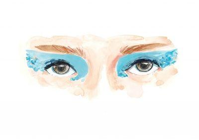 COSMOPOLA Illustration Artist - Francesco Lo Iacono - Blue Eyes
