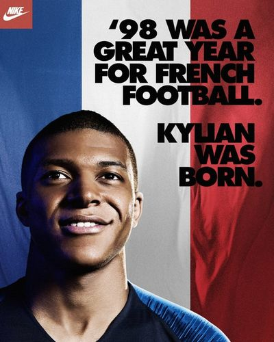 Marcus Smith c/o MAKING PICTURES : Kylian Mbappé for Nike Football