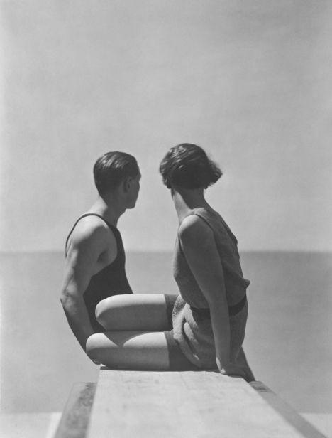 The Divers, Swimwear by Izod, 1930, copyright George Hoyningen-Huene Estate Archives