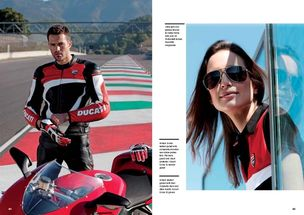 SUZANA SANTALAB for DUCATI MAGAZINE