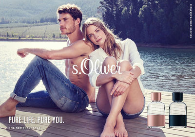 WILDFOX RUNNING: Petra van Raaij for S.Oliver Fragrances in Capetown