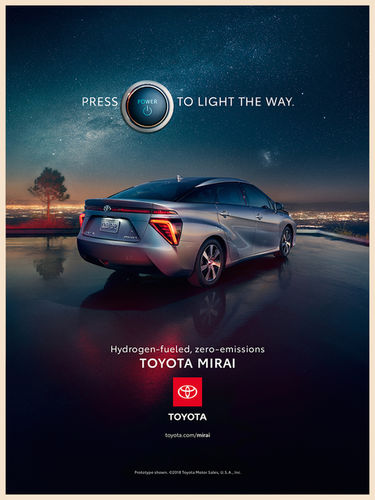 BEN & MARTIN, BAM Photographers c/o Kai Tietz, Toyota Mirai Campaign, USA