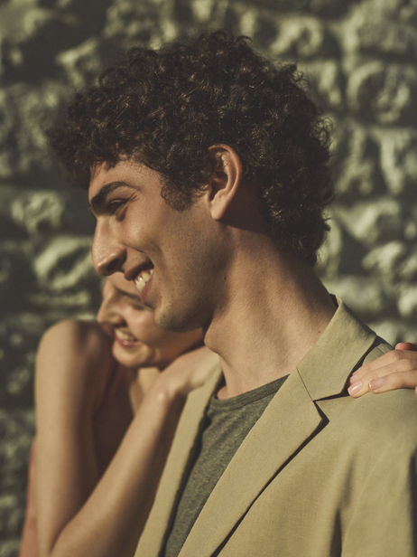 Kätlin Aas and Qaher Harhash for Theory Campaign ICONIC