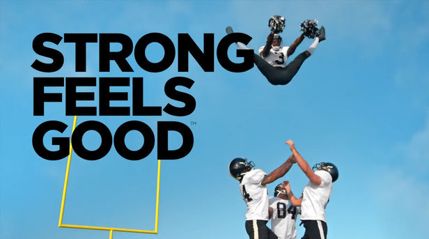 'Strong Feels Good' campaign for Muscle Milk by Tom van Schelven c/o MAKING PICTURES