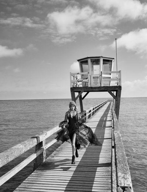 'ENTRE DEUX MERS' for L'Officiel Baltic by ROGER WEBER